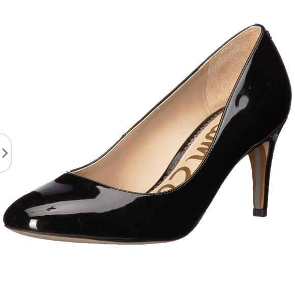 Sam Edelman Shoes - Sam Edelman Black Patent Elise Heel